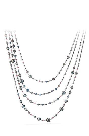 Women's David Yurman Solari Pearl & Bead Multistrand Necklace