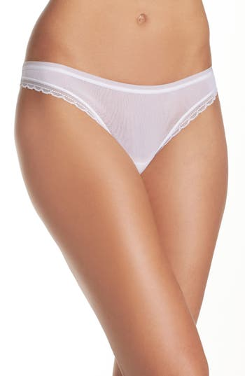 On Gossamer Hip G Thong, White