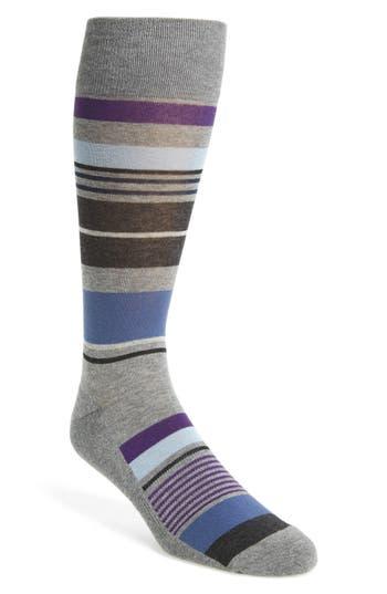 Men's Nordstrom Men's Shop Bright Stripe Socks