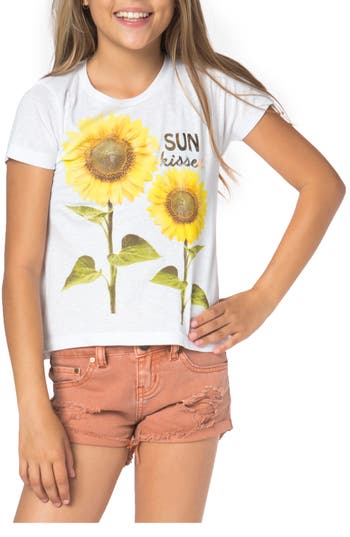 Girl's O'Neill Sun Kissed Graphic Tee