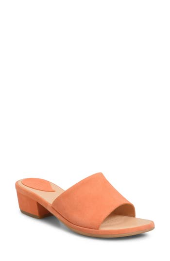 Women's Ono Bo Block Heel Slide Sandal, Size 6 M - Orange