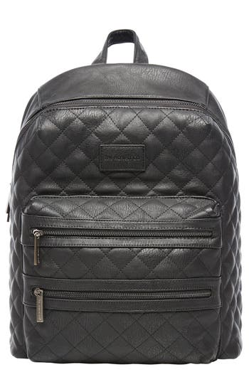 upc 816645024765 infant the honest company city quilted faux leather diaper backpack black. Black Bedroom Furniture Sets. Home Design Ideas