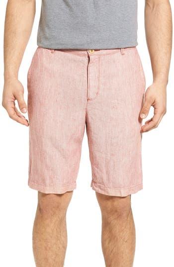 Big & Tall Tommy Bahama Shoreline Stripe Linen Shorts