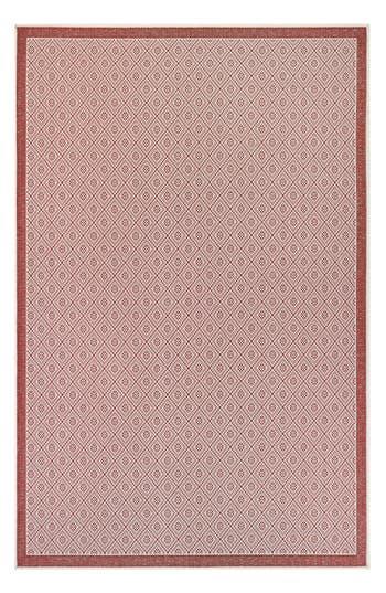 Couristan Sea Pier Indoor/outdoor Rug, ft 0in x 3ft 7in - Red