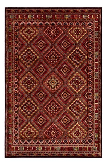 Couristan Palmer Area Rug, ft 1in x 3ft 7in - Red