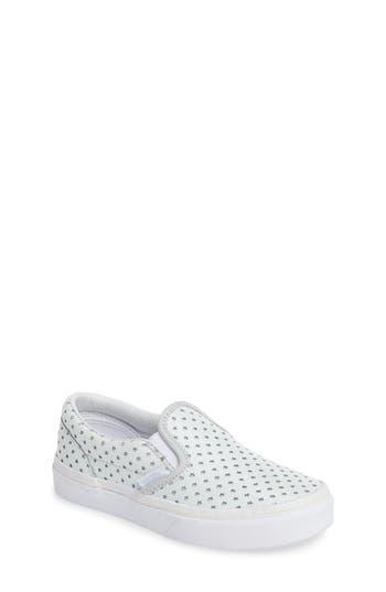 Toddler Girl's Vans Classic Perforated Slip-On Sneaker
