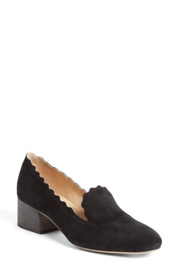 Chloe Scallop Loafer Pump