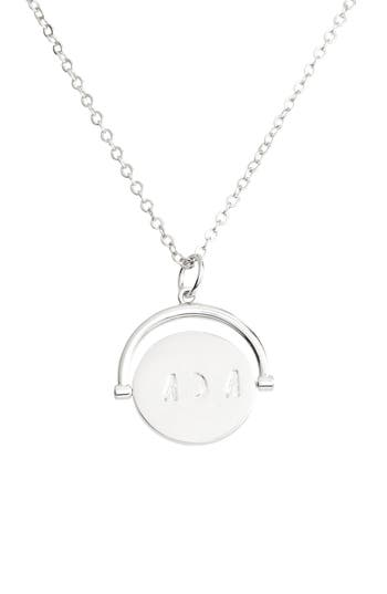 LULU DK MOM LOVE LETTERS SPINNING PENDANT NECKLACE
