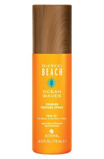 Alterna Bamboo Beach Ocean Waves Touseled Texture Spray, Size