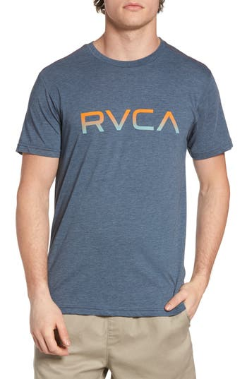 Rvca Gradient Logo Graphic T-Shirt