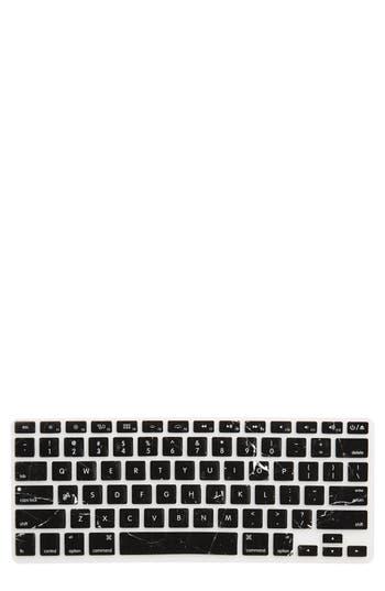 Recover Black Marble Macbook Keyboard Skin - None