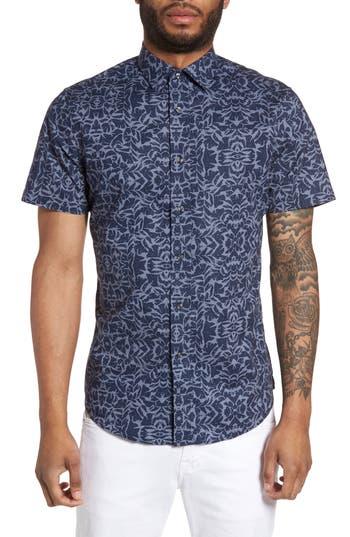 Men's Slate & Stone Slim Fit Print Sport Shirt