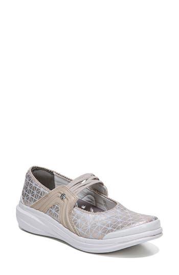 Bzees Candy Mary Jane Sneaker, Beige