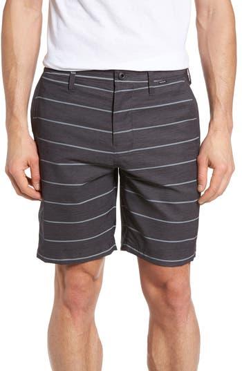 Hurley Stripe Dri-Fit Shorts