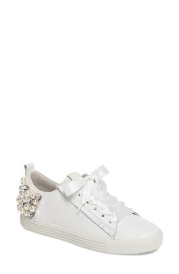 Kennel & Schmenger Town Flower Sneaker- White