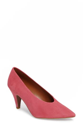 Topshop Jessie Pointy Toe Pump - Pink