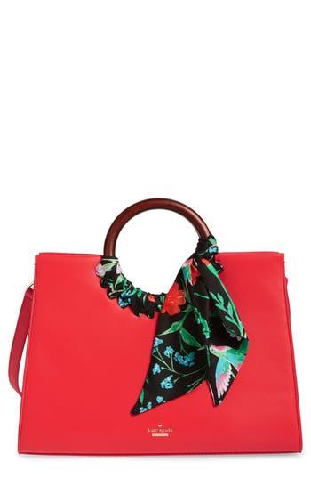 Kate Spade New York Ridgefield Street - Katarina Leather Tote - Red