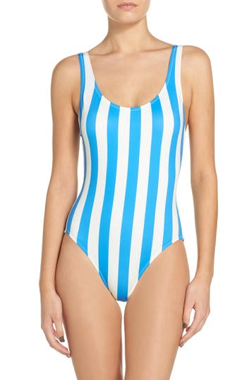 Solid & Striped Anne Marie One-Piece Swimsuit, Ivory