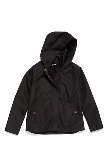 Girl's O'Neill Windy Water Resistant Hooded Jacket