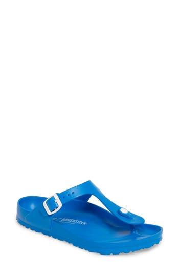 Birkenstock Gizeh Eva Flip Flop,8.5 - Blue