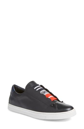 Fendi Rockoclick Slip-On Sneaker - Black
