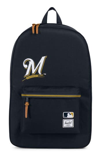 Herschel Supply Co. Heritage Milwaukee Brewers Backpack - Blue