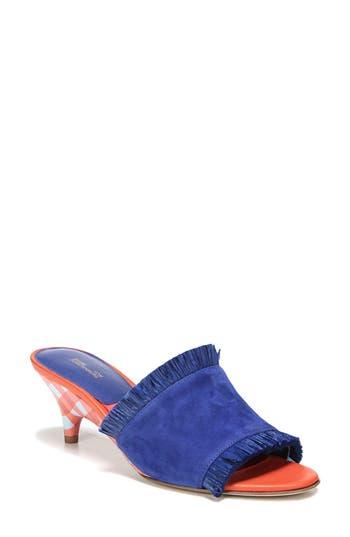 Diane Von Furstenberg Gimli Kitten Heel Sandal, Blue
