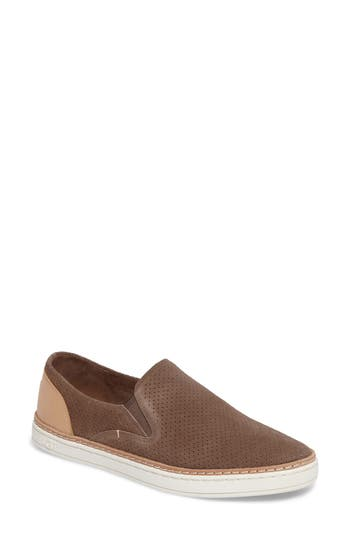 Ugg Adley Slip-On Sneaker, Brown