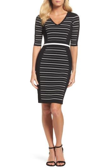 Adrianna Papell Body-Con Dress, Black