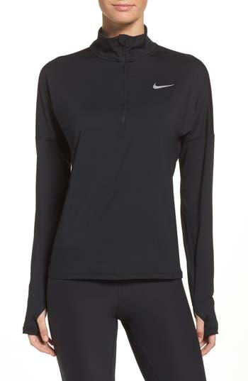 Nike Dry Element Half Zip Top, Black