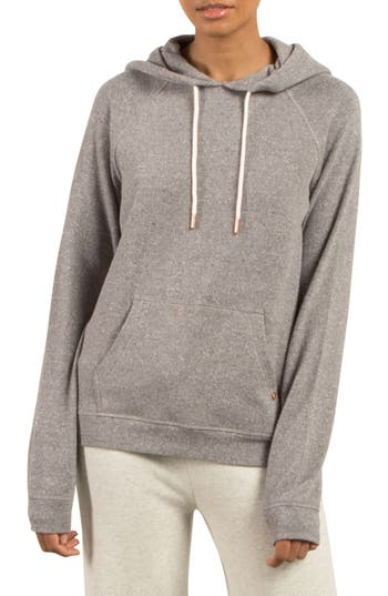 Volcom Lil Fleece Pullover, Grey