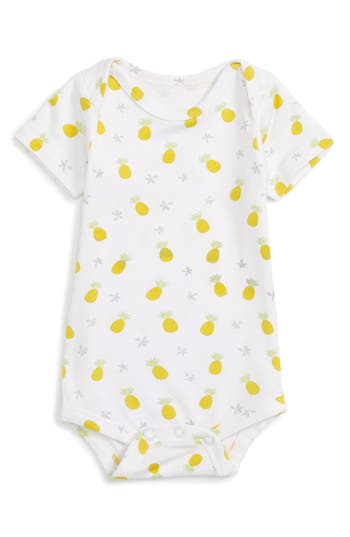 Infant Coco Moon Pineapple Bodysuit, Size 0-3M - Yellow