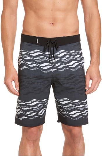 Hurley Phantom Currents Board Shorts, Black