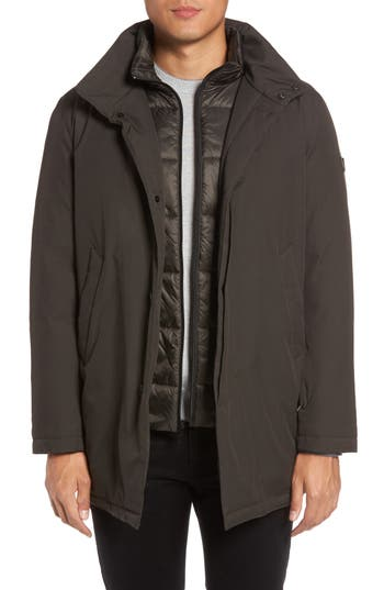 Tumi Commuter Down Jacket, Green
