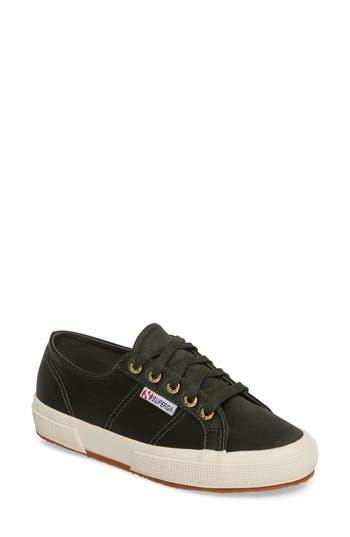 Superga Satin Sneaker, Green