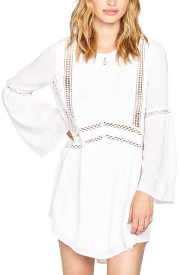 Amuse Society Kensington Crochet Trim Dress, White