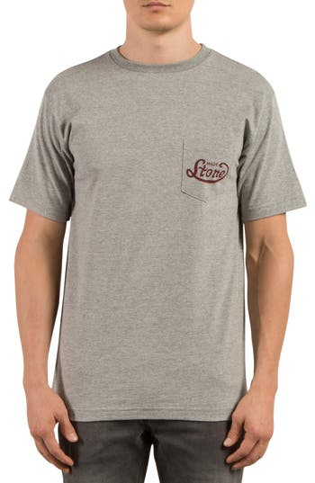 Volcom Strike Graphic T-Shirt, Grey