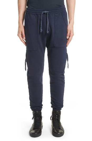Drifter Muldoom Cargo Jogger Pants, Blue