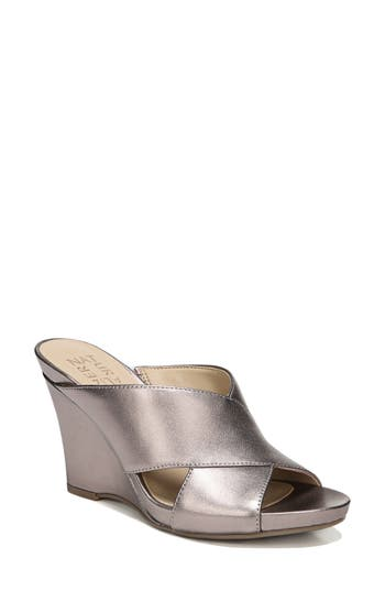 Naturalizer Bianca Wedge Mule- Brown