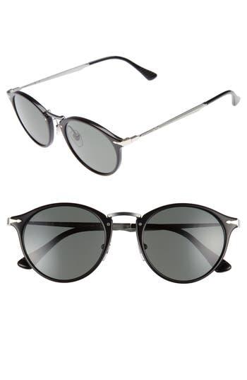Men's Persol Sartoria Typewriter 51Mm Polarized Sunglasses -