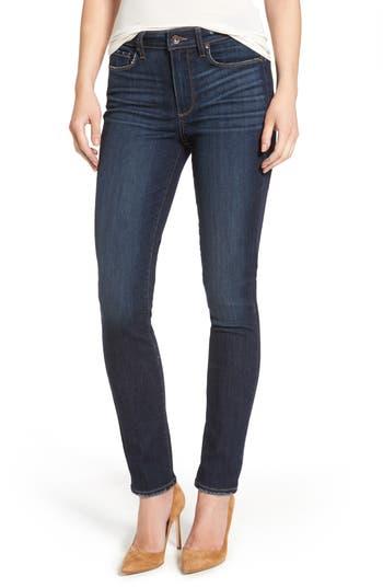 Paige Hoxton High Waist Ankle Skinny Jeans, Blue