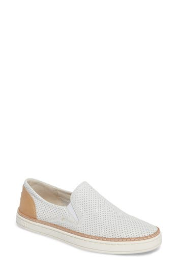 Ugg Adley Slip-On Sneaker, White