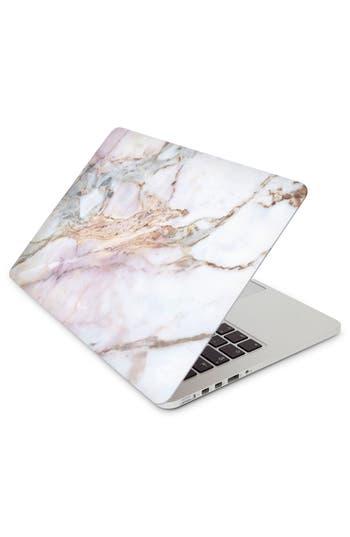 Recover Gemstone Marble 13-Inch Macbook Skin - White