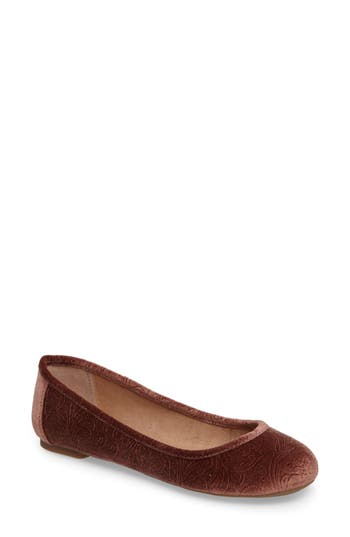 Lucky Brand Eaden Flat, Brown
