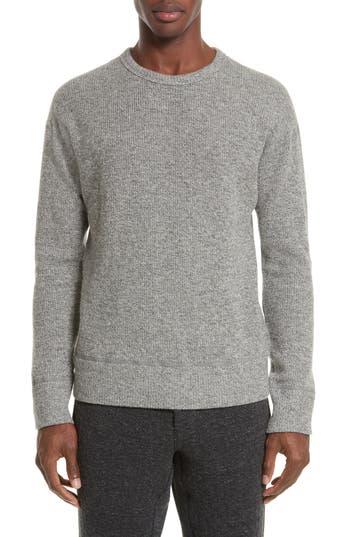 Wings + Horns Alpine Wool Blend Sweater, Grey