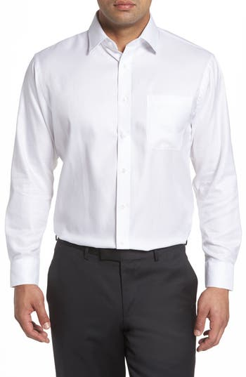 Nordstrom Men's Shop Traditional Fit Solid Dress Shirt