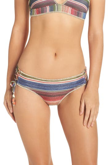 Becca West Village Hipster Bikini Bottoms, Purple