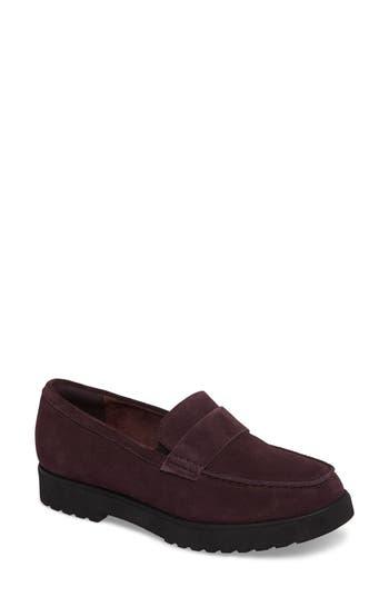 Clarks Bellevue Hazen Loafer, Purple