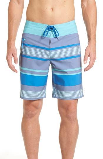 Vineyard Vines Surfer Stripe Board Shorts, Blue