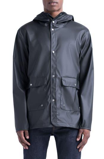 Herschel Supply Co. Forecast Rain Jacket, Black